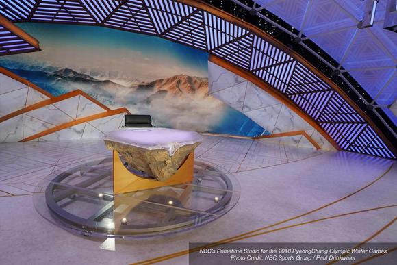 NBC 2018 Winter Olympics Studio